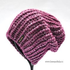 Knitted Hats, Crochet Hats, Crochet Clothes, Winter Hats, Knitting, Handmade, Accessories, Slouchy Beanie, Fashion
