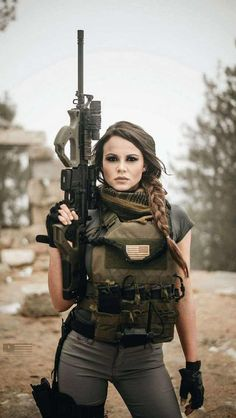 Sexy and Hot Military Girl – Army Women Female Soldier, Army Soldier, Military Girl, Warrior Girl, Military Women, N Girls, Army Girls, Badass Women, Airsoft