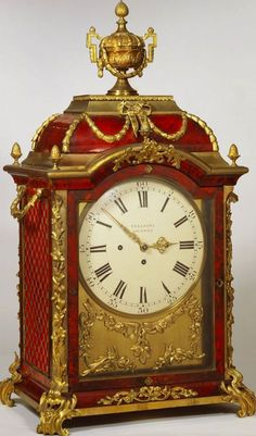 Table Clock circa 1765