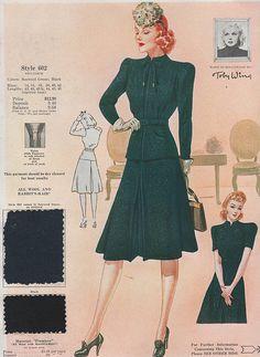 Fashion Frocks 1940