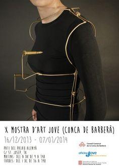 with jewels by Mireia Bonastre Bové