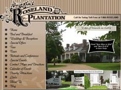 Roseland Plantation - one of the oldest places to visit in the Tyler area, off 64 - recently closed the bed & breakfast/wedding facility