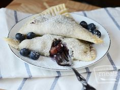 Blueberry  Peach Empanadas   OAMC from Once A Month Meals   Freezer Meals   Freezer Cooking