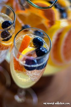 Easy White Wine Sangria Recipe - My Newest Addiction