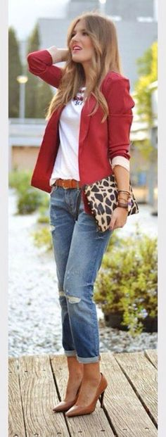 100+ Great Styles of Blazer For Business Women #womensfashionforwork