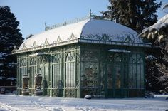 If I had a Greenhouse, it would have to look like this one. :)