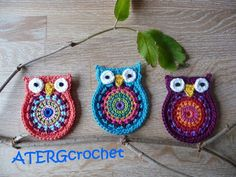 Crochet pattern owl 'big brother' by ATERG.crochet. €2,65, via Etsy.