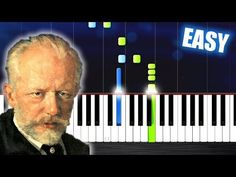 (7) Tchaikovsky - March from the Nutcracker - EASY Piano Tutorial by PlutaX - YouTube