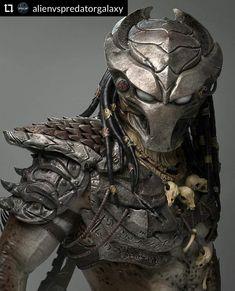 💀 💀 Predator Redesign by Tiago Rios Predator Tattoo, Predator Helmet, Predator Movie, Alien Vs Predator, Predator Games, Wolf Predator, Apex Predator, Predator Cosplay, Predator Costume