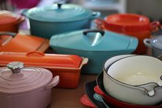 Thrifted Treasure: My entire Le Creuset collection - Vintage, Retro and New!