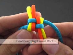 How to Make a Split-Spine Solomon Bar (Key Fob) by TIAT - YouTube