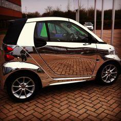 Instagram photo by @jamesgraham14 (James). #chrome #smartcar #amazing #swag