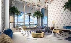 lNTERIOR DESIGN PROJECTS | the famous interior designer Jean Louis Deniot ldesignes a new luxury residence in Miami |www.bocadolobo.com #interiordesignprojects #moderninteriors
