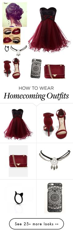 """prom!~jay"" by if-lost-please-return-to on Polyvore featuring Anne Michelle, Express and Wet Seal"