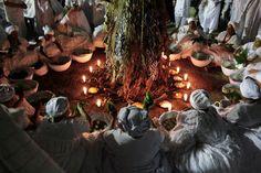 Candomble ceremony - Salvador, Brasil
