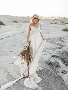 Silky House of Moirai wedding dress | Maria Sundin Photography