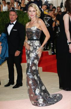 Naomi Watts at MET Costume Institute Gala 2016