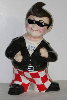 ✿ڿڰۣ(̆̃̃•Aussiegirl Big Boy Cookie Jar