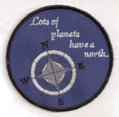 """Then why do you sound like you're from the north,"" Rose asks the 9th Doctor.  ""Lots of planets have a north,"" he replies. $8.00"