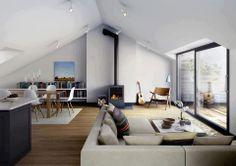 studio in mansarda