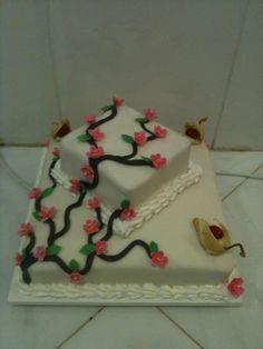 Cerejeira com cisnes