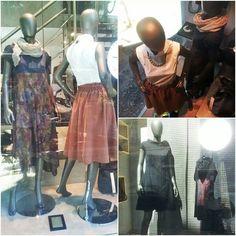 #new #collection #autumn #winter #2014 #helmi #clothes Waist Skirt, High Waisted Skirt, Window Displays, Helmet, Autumn, Winter, Skirts, Clothes, Collection