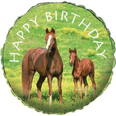 balloons with horses   click to enlarge image one 18 inch horse party foil balloon balloons ...