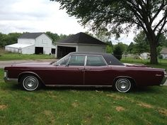 1969 Lincoln Continental, 63K miles - $8000