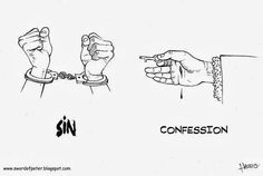 Sin vs Confession - Confession is the key to unlocking sin