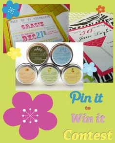 Pin It To Win It Contest: Win a 50 piece personalized stationery set. http://shop.loviesletter.com/pin-it-to-win-it #Contest #Giveaway #Pinittowinit :o)