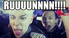 GD and top lol Big Bang Memes, Big Bang Kpop, Choi Seung Hyun, Top Bigbang, Daesung, Rapper, Boom Shakalaka, Gd And Top, Top Top