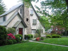 Tudor style house, I'd love it!