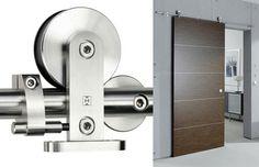 Cool modern barn door - Stainless Steal Sliding Door Hardware - Supra