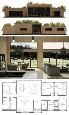 Container House - Container House - Petite Maison … - Who Else Wants Simple Step-By-Step Plans To Design And Build A Container Home From Scratch? Who Else Wants Simple Step-By-Step Plans To Design And Build A Container Home From Scratch? House Layout Plans, House Layouts, Small House Plans, Building A Container Home, Container House Plans, Container Homes, Container Home Designs, Casas Containers, Sims House