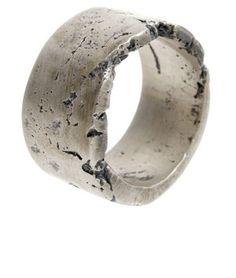 Sarah Sheridan's Wide Concrete Ring
