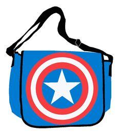 Captain America Messenger Bag