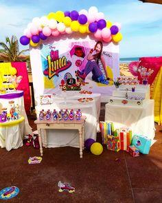 SOY LUNA, un anniversaire imaginé par notre petite Maëlys. #soyluna #birthday #anniversaire #togo #lomé #plage #enfant #kids Decoration, Birthday Cake, Desserts, Instagram, Food, Toddler Beach, Birthday Display, Decor, Tailgate Desserts