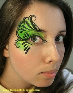 Face Painting . . . pretty! by kathy