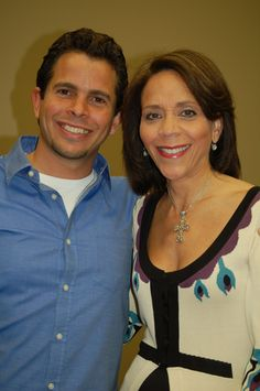 """Hay House authors Dr. Robin Smith (""""Hungry"""") and Nick Ortner (""""The Tapping Solution"""")"""