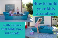 Sand Box tutorial!  Mom you can totally make this!! Great Blog for the do-it-your-self-kinda-lady! Let's make it like Christmas this summer with a surprise for the kids :)
