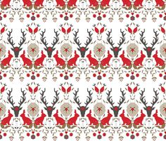 scando plus one fabric by holli_zollinger on Spoonflower - custom fabric, wallpaper or gift wrap