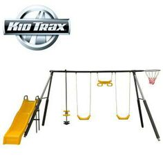 Playgrounds for backyard on pinterest play centre toys for T shaped swing set