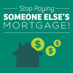 Stop paying someone elses mortgage Real Estate Postcards, Someone Elses, Real Estate Marketing, Home Buying, How To Become, Instagram Posts, Renting, Massachusetts, Passion