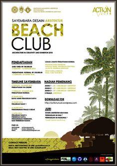 #InfoLomba #Sayembara #Desain #Arsitektur #ACTION2018 #UNUD #UniversitasUdayana #Bali #BeachClub ACTION 2018 Sayembara Desain Arsitektur BEACH CLUB  DEADLINE : 27 MARET 2018  http://infosayembara.com/info-lomba.php?judul=action-2018-sayembara-desain-arsitektur-beach-club
