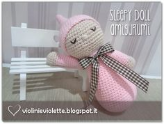crochet tutorial for sleepy doll ♥
