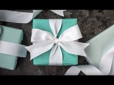 How to Tie a Tiffany Bow (Video Tutorial)