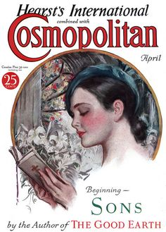 Cosmopolitan [1932-04] cover | by  Harrison Fisher