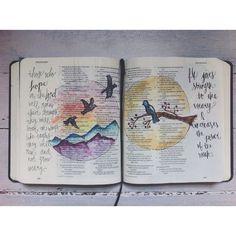 #vscocam #journalingbible #illustratedfaith #watercolor #jessicasjournalingbible
