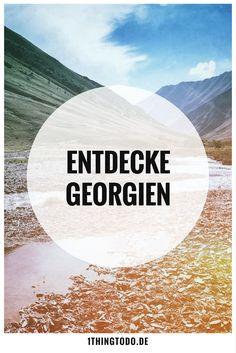 Reiseberichte und Reisetipps aus Georgien.