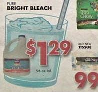 Yeah like bleach in a glass WITH a straw is gonna make us drink it... lmao.